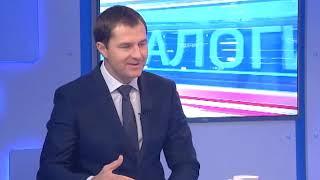 """Программа """"Диалоги"""" Владимир Волков и.о. мэра Ярославля (29.11.18)"""