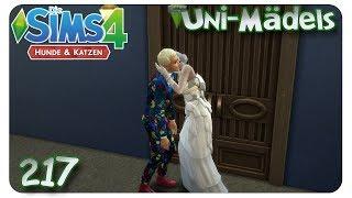 Streit mit dem Nachbar #217 Die Sims 4: Uni Mädels Hunde & Katzen - Let's Play