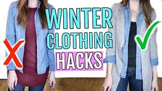 Winter Clothing Hacks You Need to Know