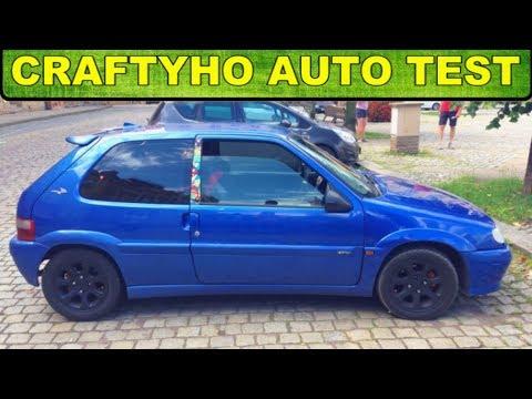 Craftyho auto test ♦ Kapesní sleeper ▶ Citroën Saxo VTS 1,6 16V