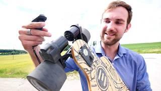 Mit 50 KM/H auf einem Longboard | Evolve e-Skateboard Kurztest