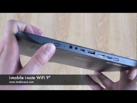 รีวิวตัวเครื่อง i-mobile i-note WiFi 9 นิ้ว