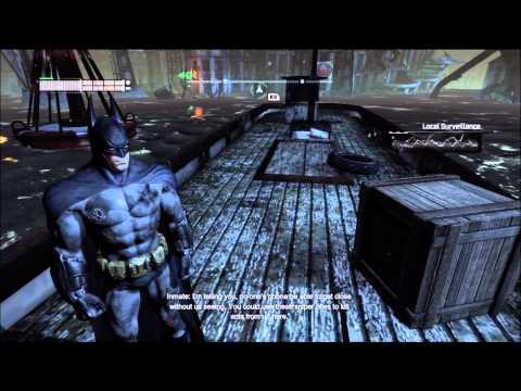 batman arkham city: killer croc, scarecrow