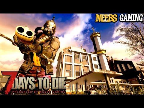 Epic Massive Factory Raid! - 7 Days To Die