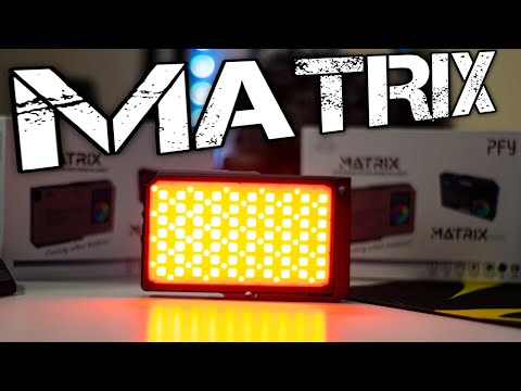 Best Portable Video RGB Light Until Now! MATRIX Video Light