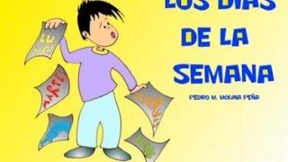 Aprendemos los días de la semana cancion infantil para niños
