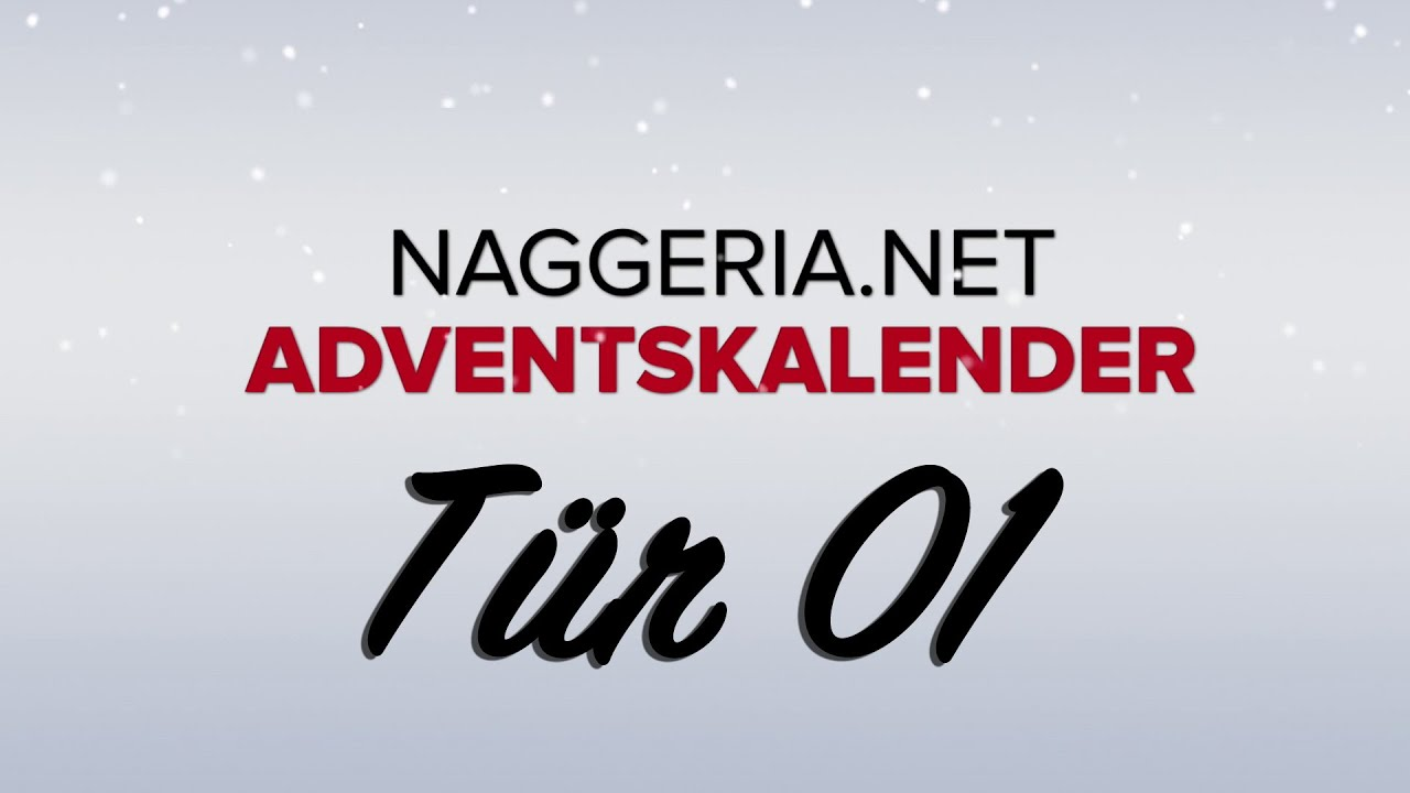 [Tür 01] Unboxing: Black Mirror Box (Naggeria Adventskalender 2015)