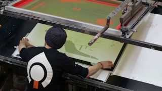 Silk Screen Printing A Coen Brothers Gig Poster Exhibition