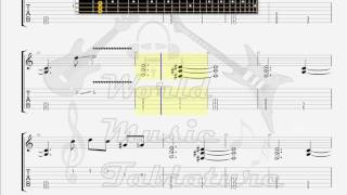 Evergrey   Damnation GUITAR 1 TAB