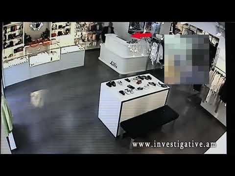 Խանութից գողացել է քաղաքացու դրամապանակը (տեսանյութ)