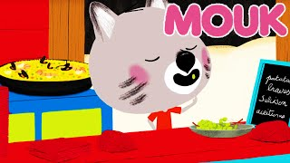 Mouk - Mouk in Spain ! Paella and the grapes of luck   Cartoon for kids