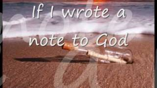 Note to God by Charice (with Lyrics)