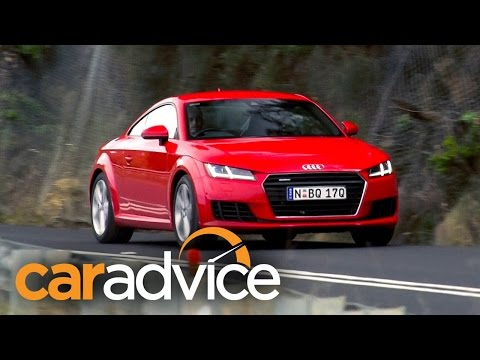 Audi TT Coupe Quattro review 2015 (2016 MY)