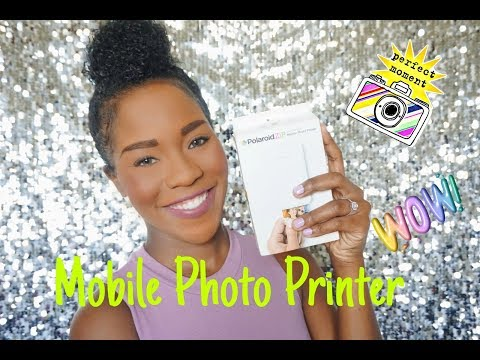 Polaroid ZIP Mobile Photo Printer Review