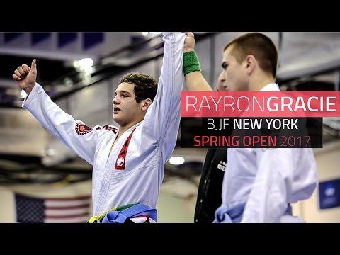 Rayron Gracie   New York Spring Open