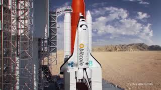 スペースシャトルの打ち上げ(仮想通貨仕様)