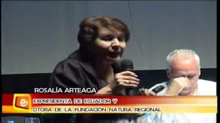 Experiencia Andino-Amazonica. Rosalía Arteaga, 4 junio 2013