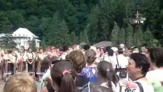 Formatia de dansuri populare Serpoaica – Gioseni jud. Bacau – Slanic Moldova 2014 partea III
