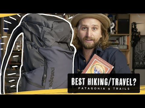 BEST HIKING BACKPACK?? Patagonia 9 Trails