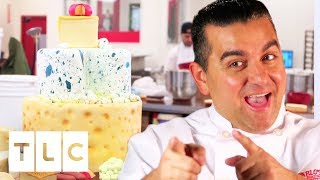 The Cheesiest Cheese Cake | Cake Boss
