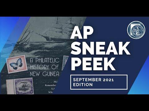 Behind the Scenes Ep.6: The American Philatelist (September 2021)