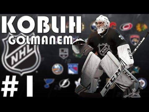 NHL 19   KOBLIH GOLMANEM #1   Turnaj před Draftem!   CZ/SK