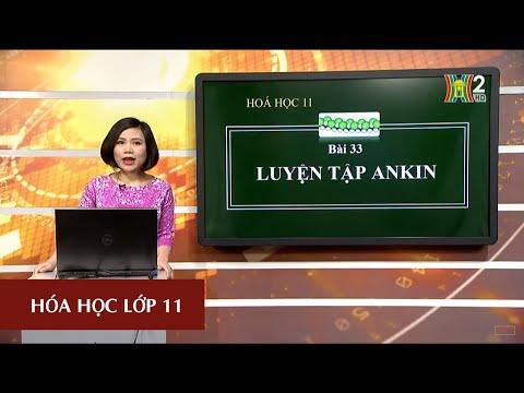 MÔN HÓA HỌC - LỚP 11   LUYỆN TẬP: ANKIN   15H45 NGÀY 14.04.2020   HANOITV