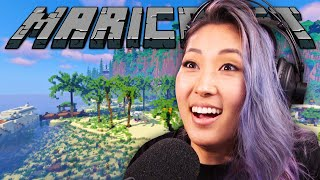 Minecraft, But in VR! | Maricraft VR 180º