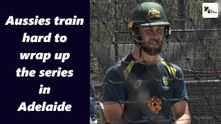 Watch: Aussies train ahead of second ODI against India at Adelaide Oval