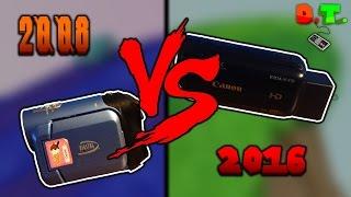 Recording Videos: 2008 vs 2016 (Digital Concepts vs. Canon)