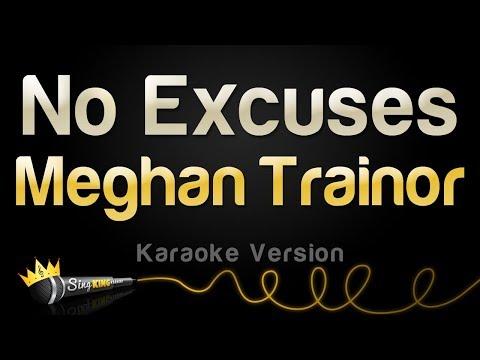 Meghan Trainor No Excuses Karaoke Version