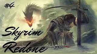 The Elder Scrolls V: Skyrim Redone #4 Дракон в небе