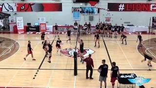 Out-of-system High Ball Volleyball Drill - The Art Of Coaching Volleyball