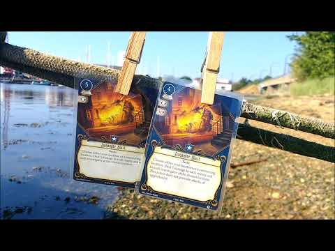 Arkham Chronicle: Return to Night of the Zealot Part Two PLAYER CARDS - Arkham Horror The Card Game