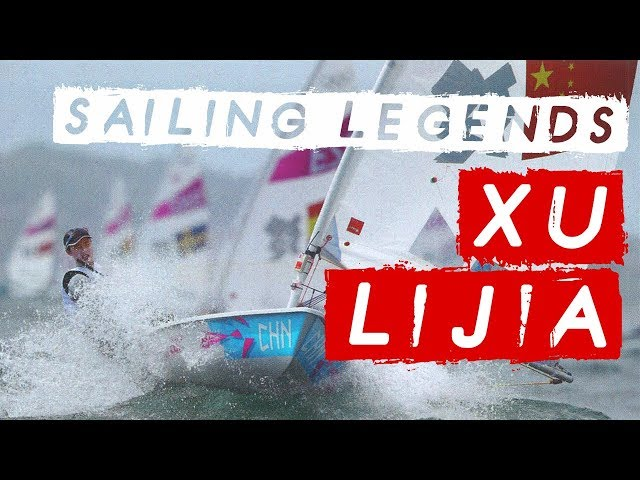 """Whoever wins the last race claims Gold""  Laser Sailor - Olympic Gold Medallist Xu Lijia"