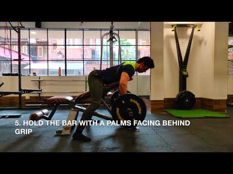 Incline Barbell Row
