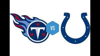 Tennessee Titans Vs. Indianapolis Colts PLAYOFF Live Stream Reaction
