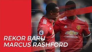 Penyerang Manchester United, Marcus Rashford Buat Rekor Baru
