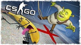 АХАХА, ОН ТРОЛЛИТ ТЕБЯ!!! БАНАН vs ШРЕК МАНЬЯК CS:GO!!!