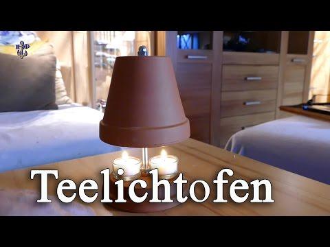 Teelichtofen (kleiner Kachelofen Bausatz)