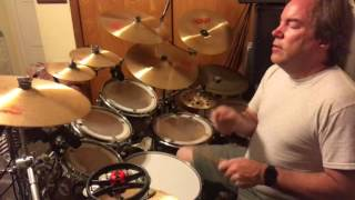 Drumming - Seven Seas - Echo and the Bunnymen (Drum Cover)