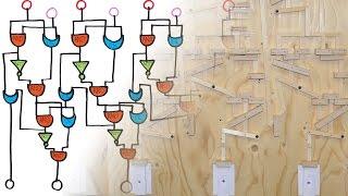 Mechanical Binary Adder