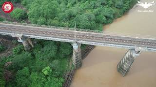 Narmada Bridge, Hoshangabad (West Central Railway)