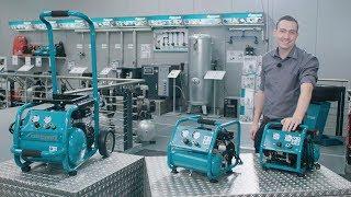 Ölfreie Kolbenkompressoren von Aircraft