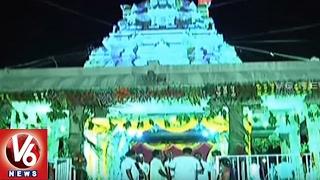Devotees Throng To Cheruvugattu Temple Brahmotsavalu | Nalgonda | V6 News