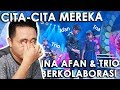 AUTO BAPER KOLABORASI INA AFAN TRIO KERAMAT SAD MUSIC VIDEO REACTION