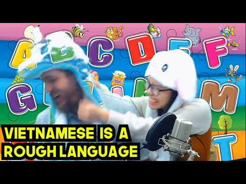 Vietnamese Tongue Twisters are INTENSE! | Luna Language Lesson e02
