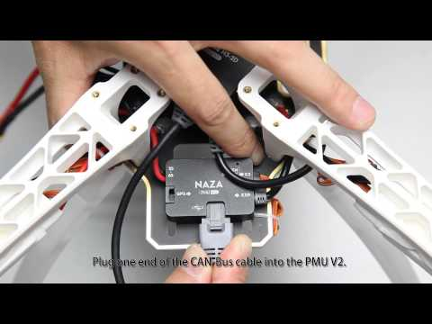 DJI How to install the Zenmuse H3-2D On Your F450