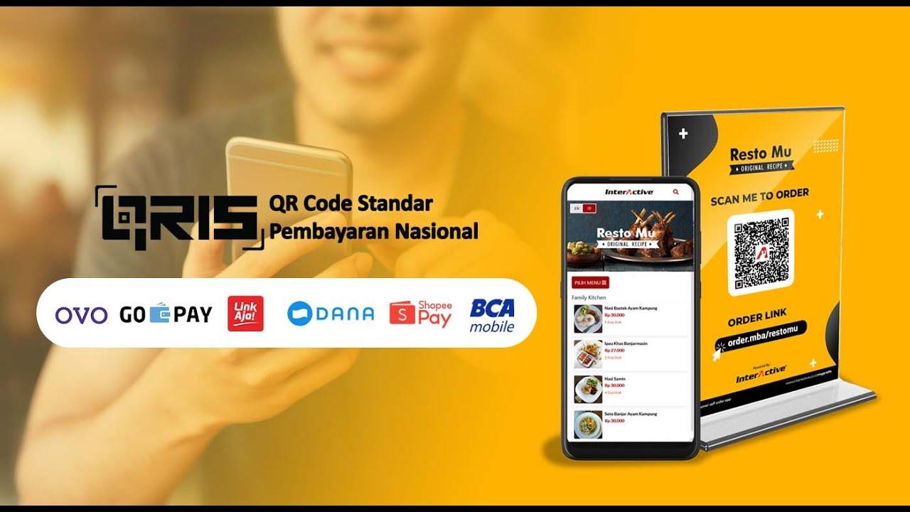 aplikasi order makanan online, emenu, menu pdf, menu qr code