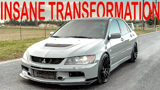 Transforming an Abandoned Evo IX!